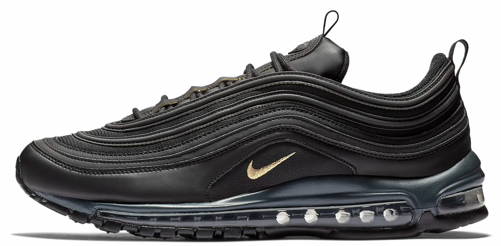 100% genuine detailed pictures pick up Nike Air Max 97 Black / Metallic Gold – Soldsoles