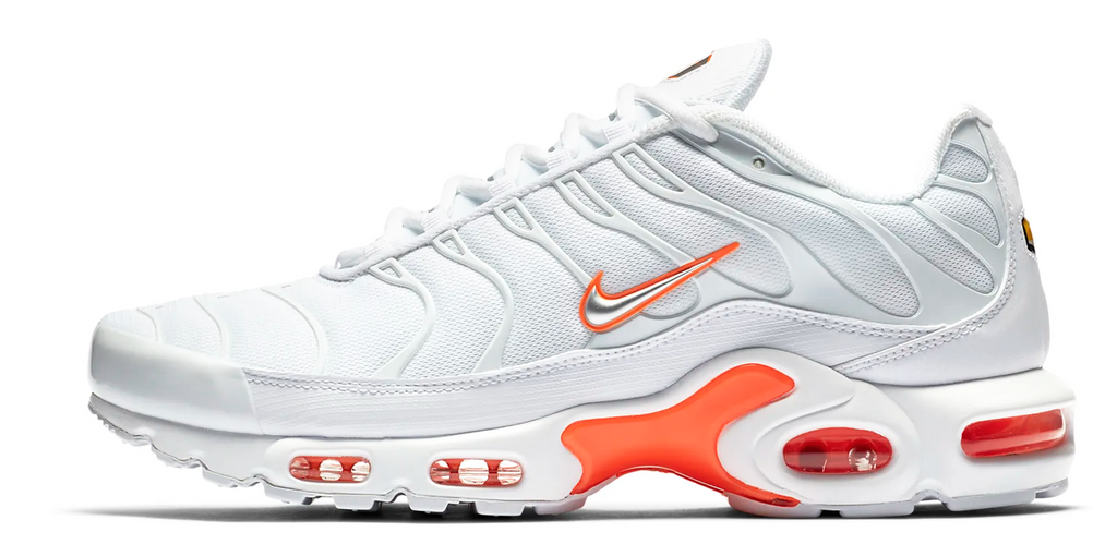 separation shoes a4dcd 94b37 Nike Air Max TN White   Orange