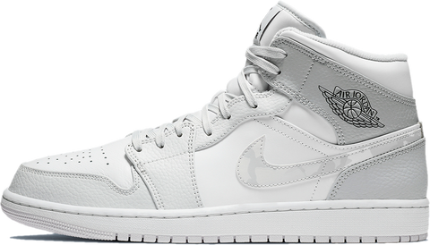 Nike Air Jordan 1 Mid White Camo