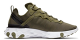 Nike React Element 55 Olive Green
