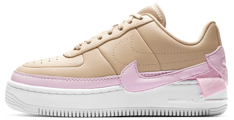Nike Air Force 1 Jester xx Tan / Pink