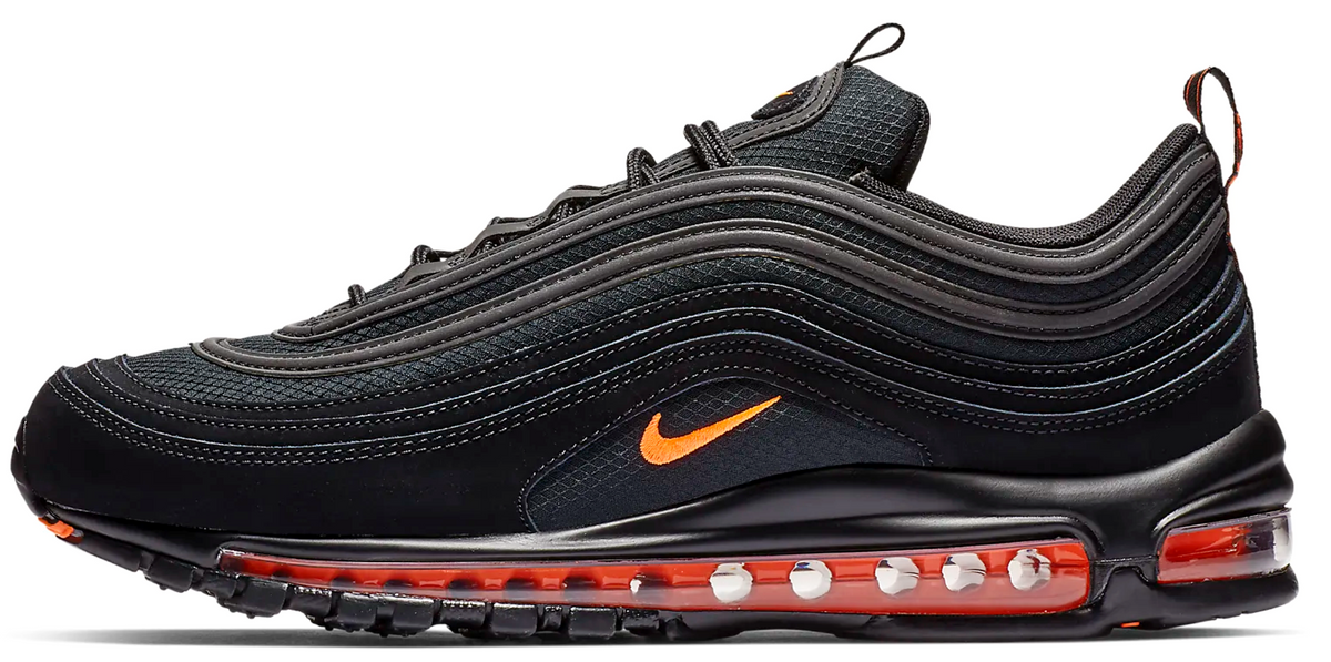 100% authentic fb9ca bfbbe Nike Air Max 97 Black   Orange