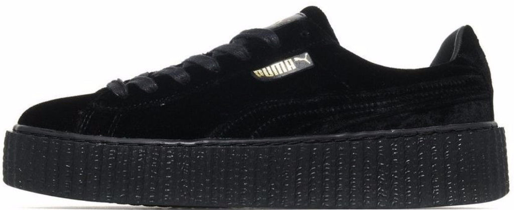 the best attitude 5e9ca d7df0 Rihanna x Fenty Puma Creeper Velvet Black