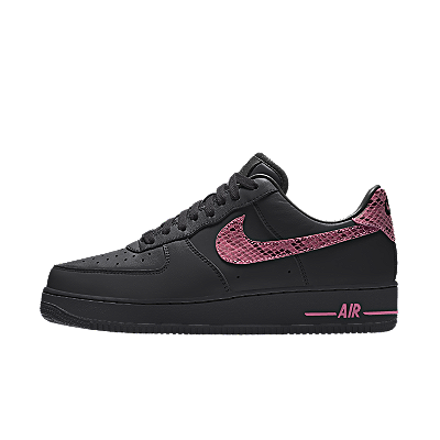 Nike Air Force 1 ID Pink Python