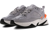 Nike M2K Tekno Grey / Orange