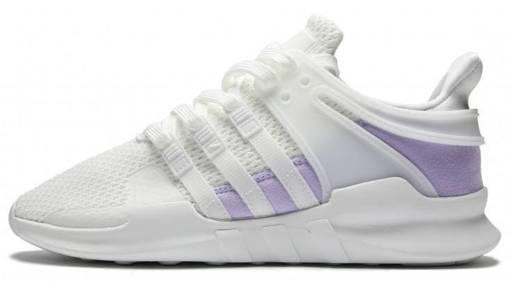 new style f153f 2aac0 Adidas EQT Support ADV White / Ice Purple