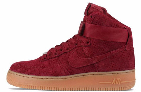 Nike Air Force 1 Mid Team Red