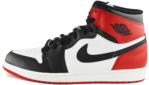 nike air jordan 1 black toe