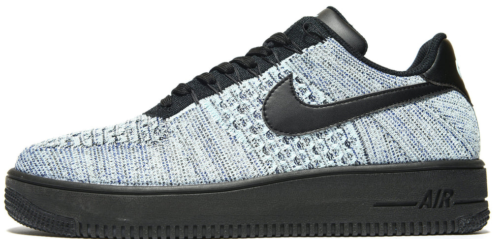 001a3958c3e14f Nike Air Force 1 Low Flyknit Glacier Blue – Soldsoles