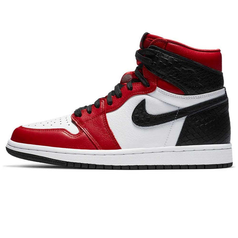 Nike Jordan 1 High Satin Snake Chicago WMNS