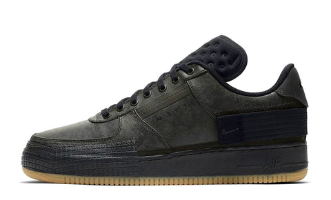 Nike Air Force 1 Type Black / Gum