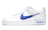 Nike Air Force 1 Low Scribble White / Blue