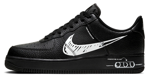 Nike Air Force 1 Low Scribble Black