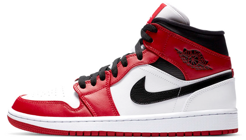 Nike Air Jordan 1 Mid Chicago White