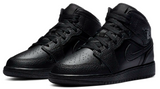 Nike Jordan 1 Mid Black Junior