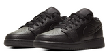 Nike Jordan 1 Low Black Junior