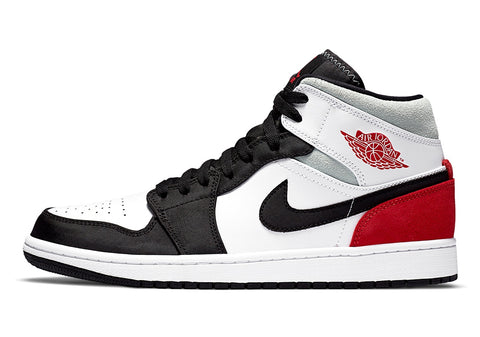 "Nike Air Jordan 1 Mid ""Union"" Red / Grey"