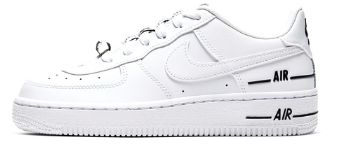 Nike Air Force 1 Double Air White Mens