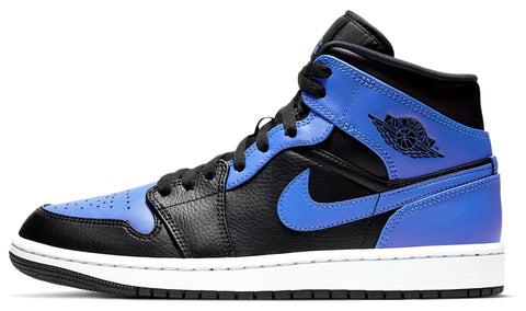 Nike Jordan 1 Mid Hyper Royal Blue GS