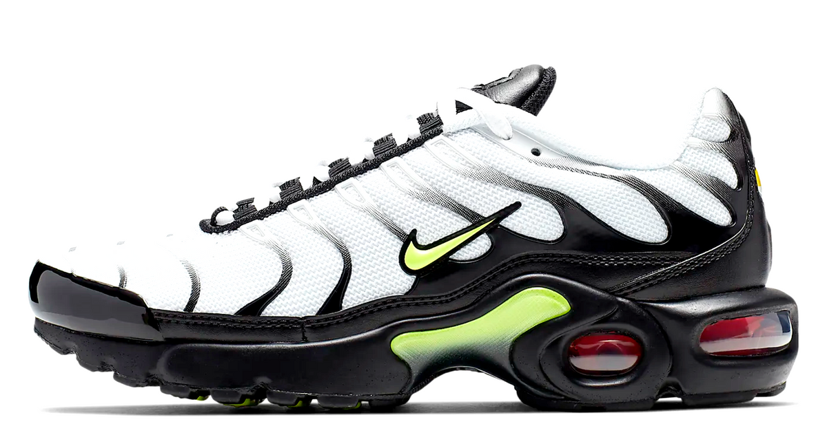 hot sale online cddfd ebc20 Nike Air Max TN RF White / Black/ Volt Junior