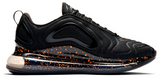 Nike Air Max 720 Black / Speckled Crimson