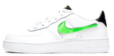 Nike Air Force 1 Junior Removable Swoosh White