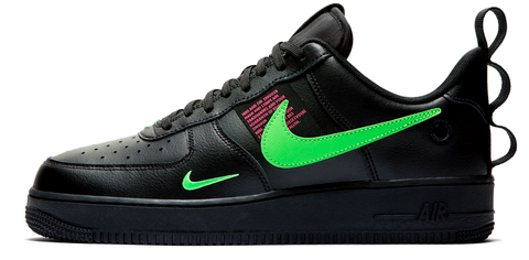 Nike Air Force 1 Low Utility Black / Scream Green
