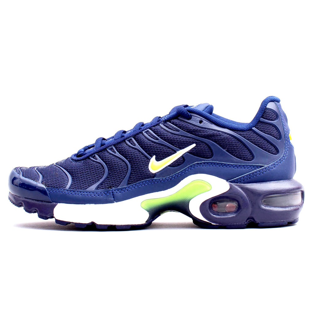 the best attitude 9da08 0afd4 Nike Air Max TN Midnight Navy / Volt Junior