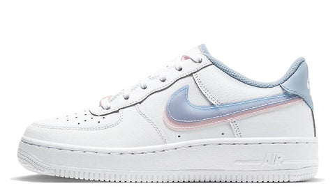 Nike Air Force 1 3D Blue / Arctic Punch GS
