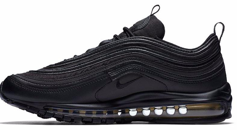 separation shoes 16ad5 44588 Nike Air Max 97 Black / Gold