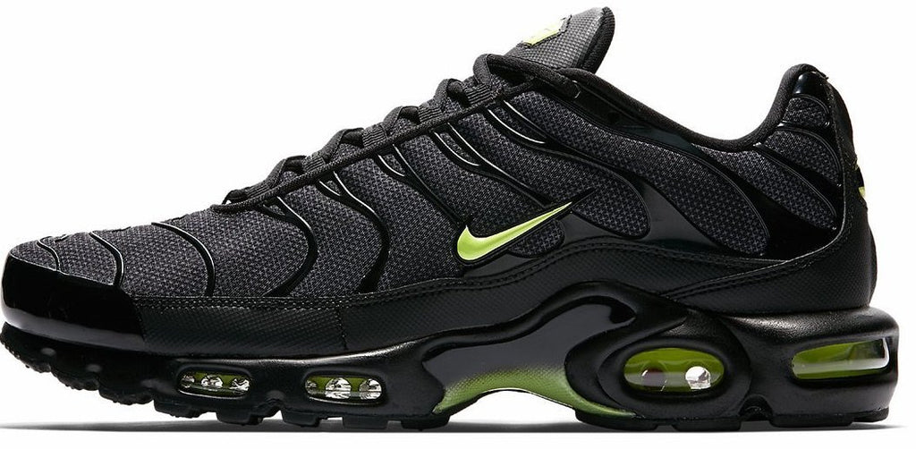 san francisco ed9e3 ee06c Nike Air Max TN Black   Neon Green