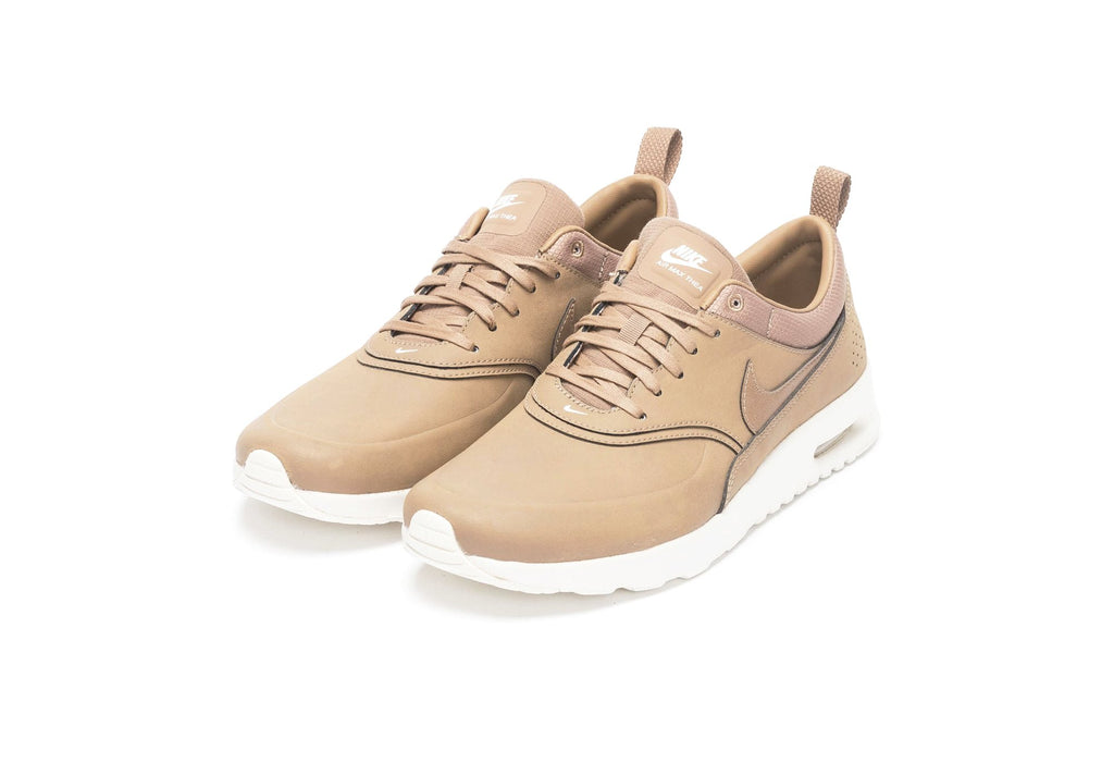 nike air max thea leather sneakers desert camo