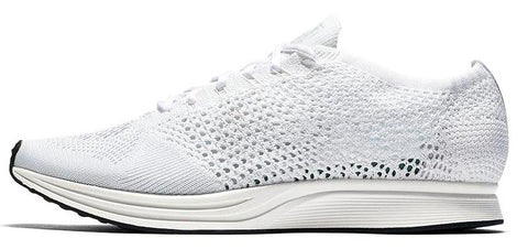 bedf74f4a8 Nike Flyknit Racer Godess White
