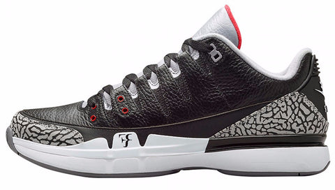 "Nike Zoom Vapor Air Jordan 3 ""Black/Cement"""