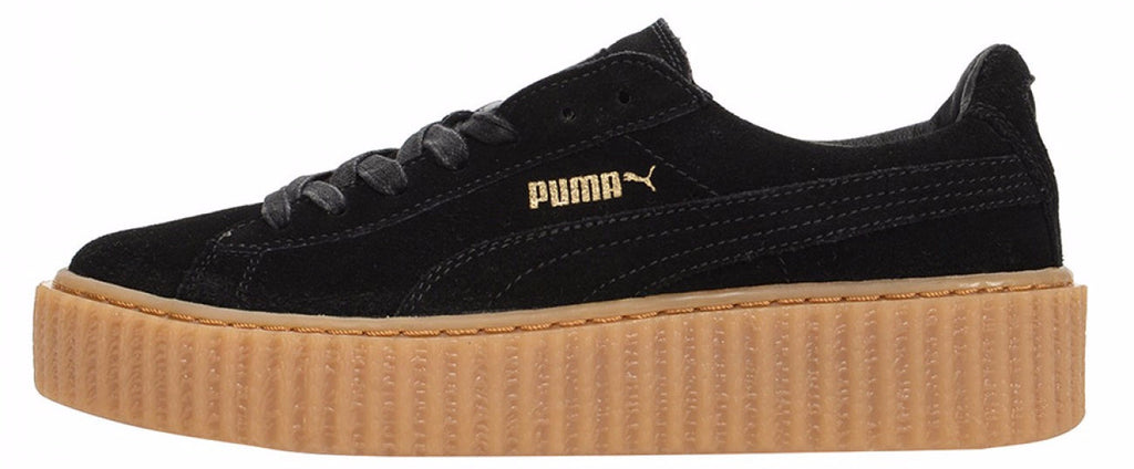 best sneakers b0714 2e3c2 Rihanna x Fenty Puma Creeper Black/Gum
