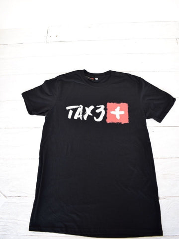 Tax3 Black T-shirt