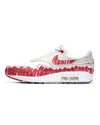 Nike Air Max 1 Sketch Red / White
