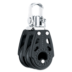 Harken 29mm Double Swivel Carbo Block