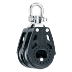 Harken 40mm Double Swivel Carbo Block