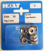 Holt Prepack SS Cup Washers