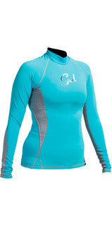 Gul Ladies Swami Long Sleeved Rash Vest.