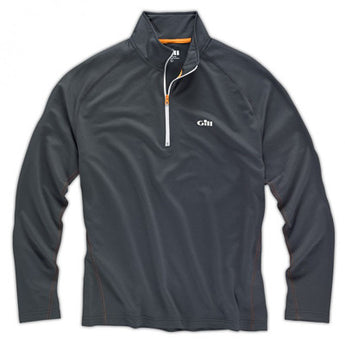 Gill I2 Men's Zip Neck  L/S Polo Top