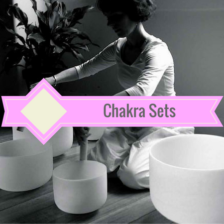 Healing Himalayas. Chakra sets. Crystal singing bowls. 7 Chakras. Chakra meditation with crystal singing bowls.