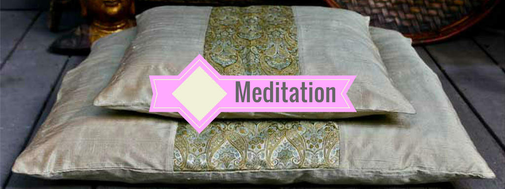Healing Himalayas meditation cushions and meditation mats including zafus and zabutons by Alexia, Barefoot, Chattra, Halfmoon, Hugger Mugger, Manduka, and MyZenHome.