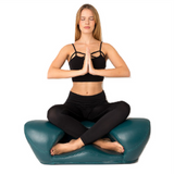 Alexia Meditation Seat - Leather - Green