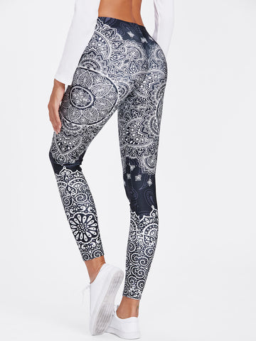 Image of Ornate Mandala Leggings