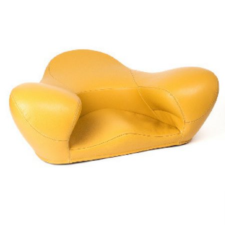 Alexia Meditation Seat - Leather - Yellow