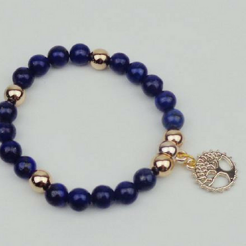 Tree of Life Bracelet - With Gold Charm!