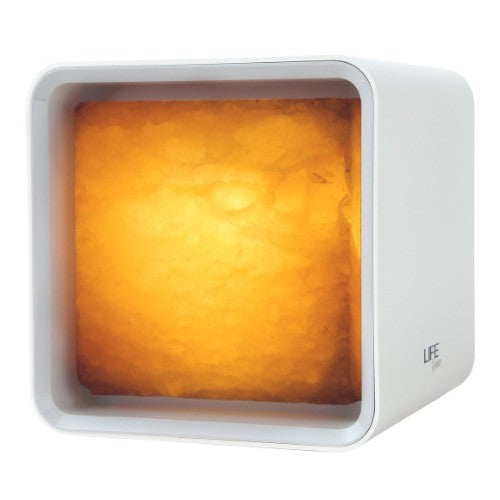 Ascent Modern Cube Himalayan Salt Lamp