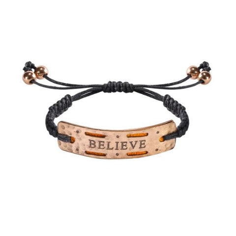 "Image of ""Believe"" - Mini Aromatherapy Bracelet"